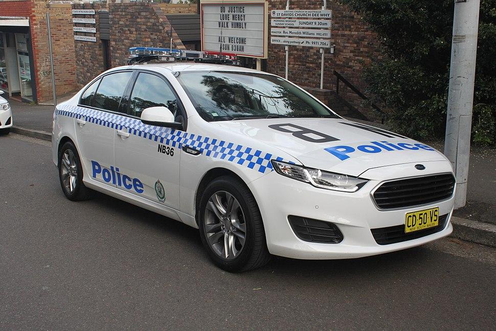 2015 Ford Falcon (FG X) sedan, NSW Police Force (18179928673)