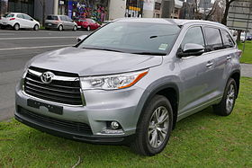 Toyota Highlander Australia New York New York >> Toyota Highlander - Wikipedia, the free encyclopedia