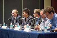 2015 Wikimania press conference-17.jpg