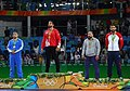 2016 Summer Olympics, Men's Freestyle Wrestling 125 kg final 10.jpg