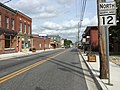 2017-08-28 09 58 11 View north along Maryland State Route 12 (Washington Street) at U.S. Route 113 Business (Market Street) in Snow Hill, Worcester County, Maryland.jpg