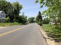 2018-05-25 13 03 06 View north along New Jersey State Route 71 (Monmouth Road) between Turtle Mill Brook and Evergreen Lane on the border of Oceanport and Eatontown in Monmouth County, New Jersey.jpg