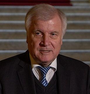 Horst Seehofer German politician (CSU), Federal Minister of the Interior