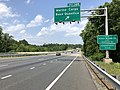 2019-05-29 13 52 01 View north along Interstate 95 at Exit 148 (Marine Corps Base Quantico) on the edge of Boswell's Corner in Stafford County and Marine Corps Base Quantico in Prince William County in Virginia.jpg