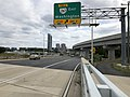 2019-09-17 14 10 23 View east along Virginia State Route 7 (Leesburg Pike) at the exit for Virginia State Route 267 EAST (Washington) in Tysons Corner, Fairfax County, Virginia.jpg