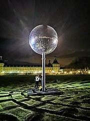 Die Kugel; Lichtskulpturen Beethoven 2020 (Bonn)