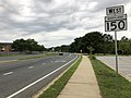 2020-08-03 16 37 36 View west along Maryland State Route 150 (Eastern Boulevard) just west of Maryland State Route 43 (White Marsh Boulevard) in Middle River, Baltimore County, Maryland.jpg