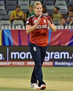 Katherine Brunt England cricketer
