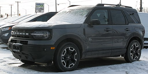 2021 Ford Bronco Sport Outer Banks, Front Left, 01-17-2021