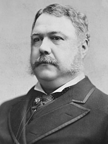 Chester A Arthur Wikipedia - Wiki us presidents
