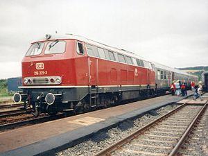 DB Class V 160 - Image: 216 221 2 1997 07 08