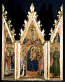 21 Andrea di Bartolo Triptych Madonna with Child and Saints. Staatliche museen, Berlin.jpg