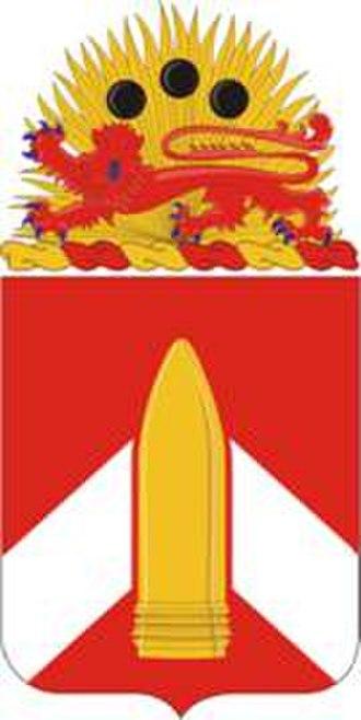 28th Field Artillery Regiment - Coat of arms