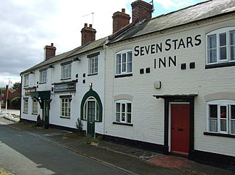 Halfway House, Shropshire - Image: 2 pubs in 1 geograph.org.uk 539049