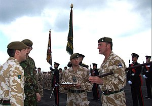 Afghanistan Service Medal Parade, 2nd Battalio...