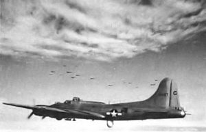 RAF Mendlesham - 34th Bomb Group Lockheed/Vega B-17G-65-VE Fortress Serial 44-8457