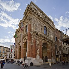 Logia del Capitanio, Vicenza (1571-1572)
