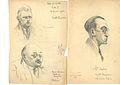 3 portraits crayon graphite dont Maurice ADER 17111932.jpg