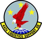 442 Logistics Support Sq (later 442 Maintenance Operations Sq) emblem.png