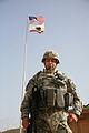 49th MP Brigade raises Golden State flag over Iraq DVIDS221137.jpg