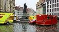 7. Internationaler Florianstag (Dresden) - Öffentlicher Festumzug der Feuerwehr Dresden - Altmarkt bis Neumarkt - Vorführungen der Feuerwehr - Feuerwehr ISO-Container vor der Frauenkirche - Bild 012.jpg
