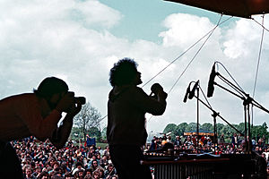 Moers Festival - In 1978 the International New Jazz Festival Moers took place outdoors. (picture David Friedman)