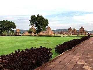 Pattadakal World Heritage site with 7th and 8th century temples