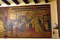 91 Can Culleretes, interior, mural de Francesc Tey.JPG