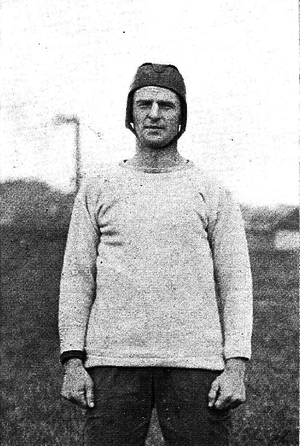 A. J. Sturzenegger - Sturzenegger at Michigan, 1921