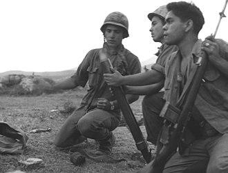 Operation Georgia - Marines fire a 60mm mortar