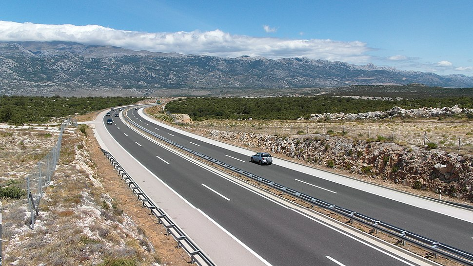 A1 near junction Maslenica