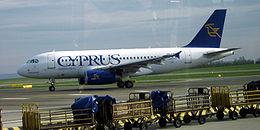 Un A319 della Cyprus Airways
