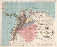 AGHRC (1890) - Carta XII - División política de la Nueva Granada, 1851.jpg
