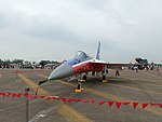 AIDC F-CK-1A 10003 Display at Ching Chuang Kang AFB Apron 20161126c.jpg