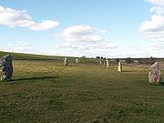 The stone avenue