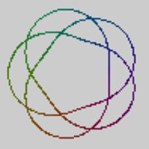 Pretzel link - P(5,3,-2) = T(5,3) = 10124