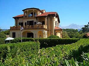 Hostelling International - The main building of an HI hostel in Marina di Massa, Tuscany