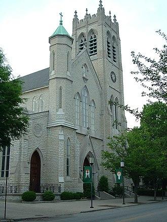 Limerick, Louisville - St. Louis Bertrand Catholic Church on 6th Street