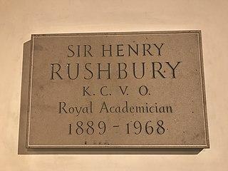 Henry Rushbury British artist