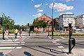 A pedestrian crossing at Trädgårdsgatan, Örebro.jpg
