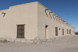 A portion of Fort Leaton, a Texas State Historic Site, on the edge of Presidio, along the Rio Grande River in Brewster County, Texas LCCN2014630294.tif