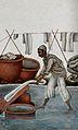 A washer man (dhobi wallah) in Delhi Wellcome V0045535.jpg