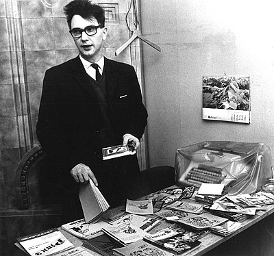 A selection of pornographic magazines confiscated by customs authorities in 1969.