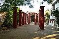 Aatchala Bari Pillars - Sabarna Roy Choudhury Estate - Barisha - Kolkata 2012-10-23 1121.jpg