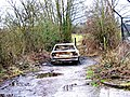 Abandoned vehicle near Oldington Bridge - geograph.org.uk - 657282.jpg