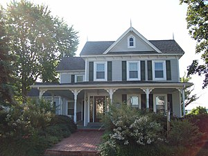 National Register of Historic Places listings in St. Mary's County, Maryland - Image: Abell house Jul 09