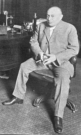 A. L. Erlanger - Abraham Lincoln Erlanger 1909