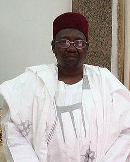 Abubakar Ibn Umar Garba Shehu of the Borno Emirate in northeast Nigeria.