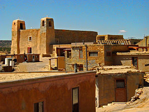 "Cibola County, New Mexico - Acoma Pueblo, ""Sky City"", 2008"