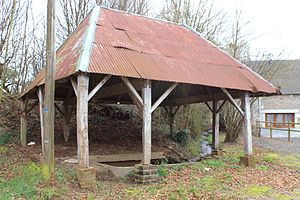 Acqueville, Calvados - The lavoir at Acqueville
